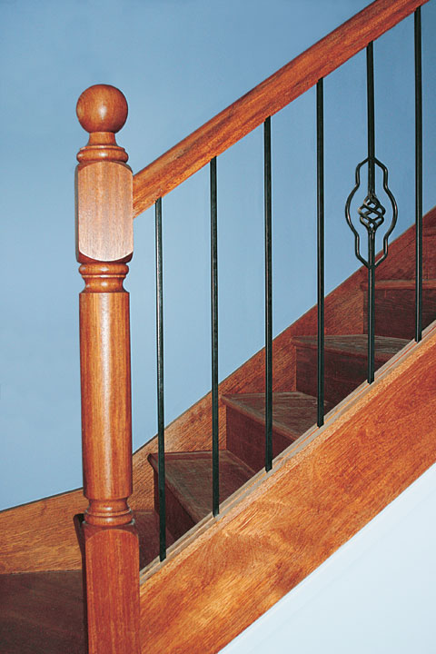 ideal stairs and handrails