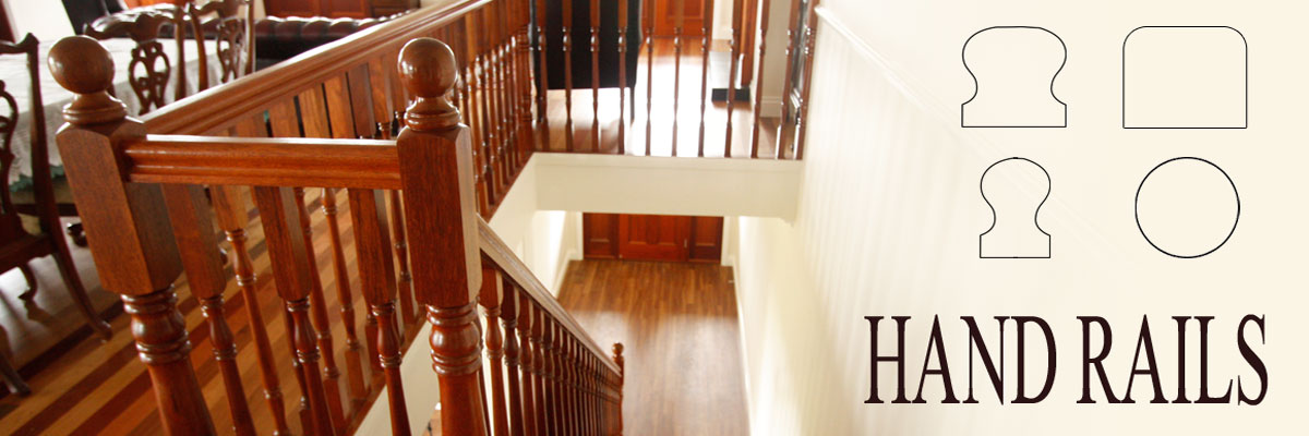 handrails by Ideal Stairs