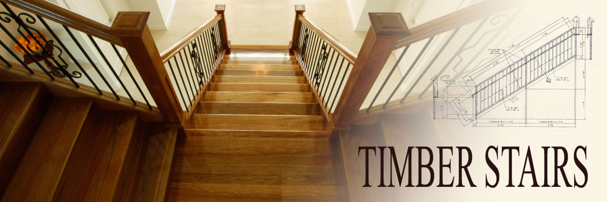 timber stairs by Ideal Stairs